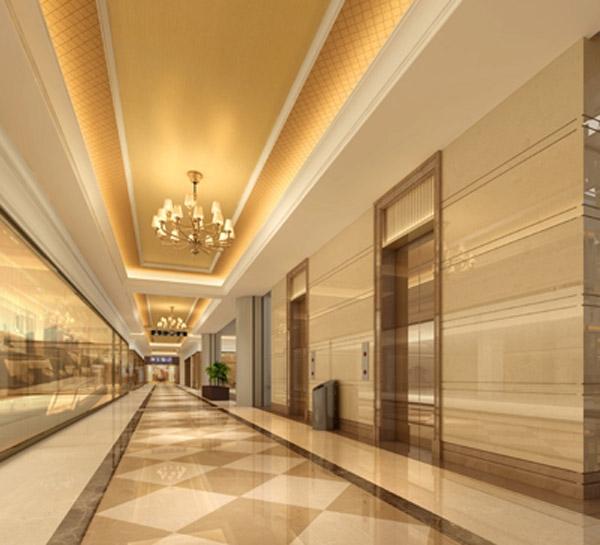 居------电梯厅效果图-福瀛国际建材家居广场